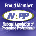 Proud member of the National Association of Photoshop Professionals